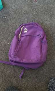 Gravis purple laptop backpack