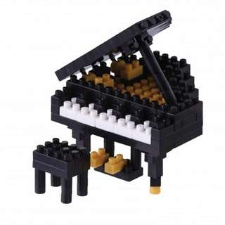 brand new nanoblock grand piano