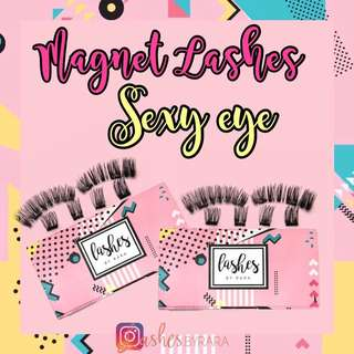 Lashes By Rara (Magnetic False Eyelashes)