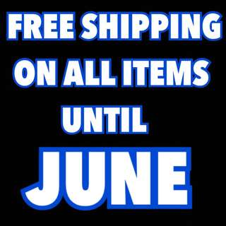 Free shipping is still on!!