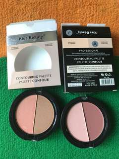 Kiss beauty contouring palette conceal highlight