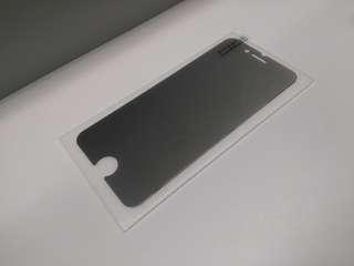 全新 新款 iphone 7 plus / 8 plus 高清防窺玻璃貼 (非全屏)