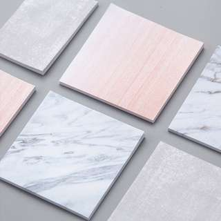 Marble Pattern Sticky Notes Post-its