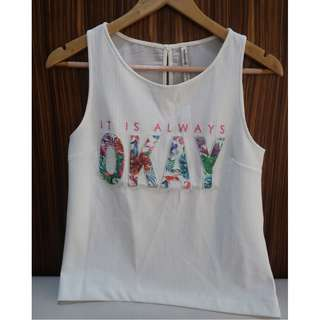 Stradivarius tank top