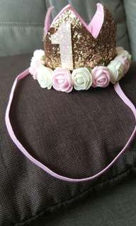 Baby Hair Ornaments with Flowers
