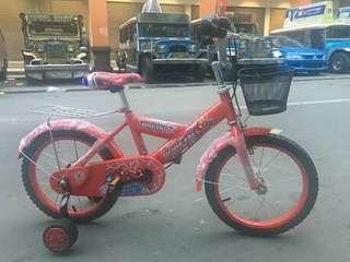 Pre Order Kids Bike Restock  5color ( assemble add 50 php ) 12inch : - 1750 php (2-4years old ) 14inch : - 1800 php  (3-6years old ) 16inch : - 1850 php  (5-9years old kaya) #sywg