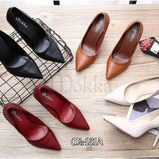 [MOKKA XAQUILA HEELS MK-131A] Sepatu Fashion Wanita Impor Murah