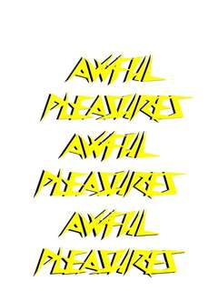 Awful Pleasures (Clothing Brand)