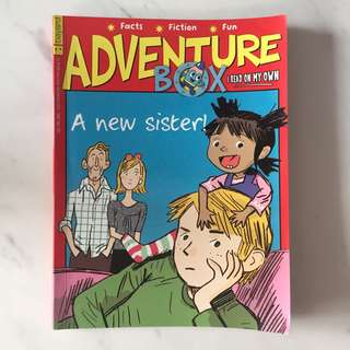 Adventure box - A new sister (issue 180 Feb 2014)