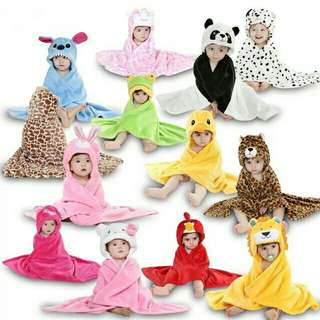 Hooded Blankets for Babies / Toddlers