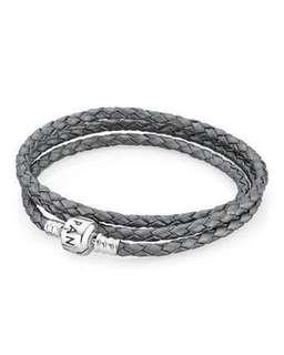Pandora Silver Triple Wrap Bracelet