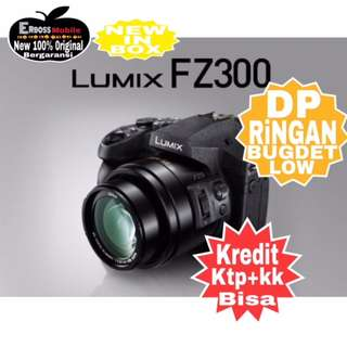 Panasonic Lumix DMC FZ300 Resmi-Cash/kredit Dp 800rb ditoko call/wa;081905288895
