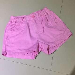 Celana pendek pink giordano sz 8-10th