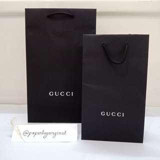Gucci Paperbag Authentic paper bag original