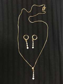 Terno Necklace and Earrings