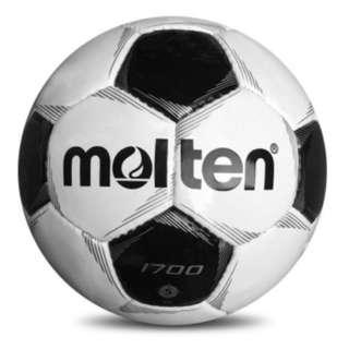 全新 Molten 摩騰5號 F5P1700 1700 室內室外草地耐磨草坪PVC硬地手縫成人比賽訓練足球 Match Training Sz. 5 Football Soccer Ball
