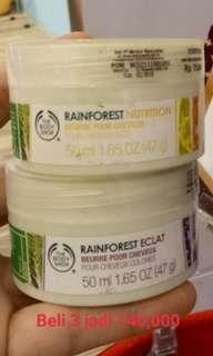 Hair mask rainforest tbs 3 for 140rb