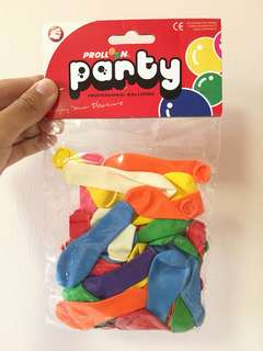 Mini party balloons