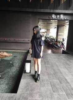 🚚 格紋洋裝