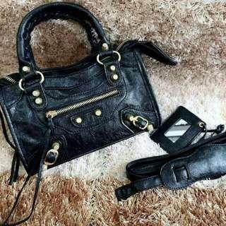 [BALENCIAGA GIANT CITY MINI 501-9] Tas Fashion Wanita Impor Murah