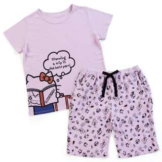 Japan Sanrio Hello Kitty Pajamas (Pink)