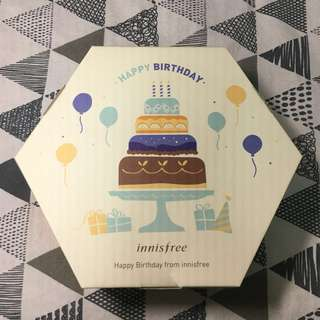 Innisfree 2018 會員 生日禮