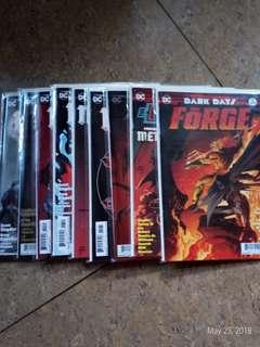 Dark days 1-2 & Dark nights batman lost & Dark nights metal 1-6