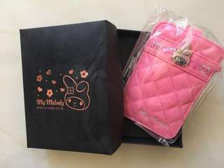 (歡迎議價🙂)Sanrio Melody phone bag 電話套