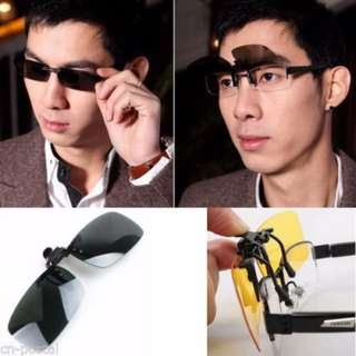 Polarized Spectacles Clip