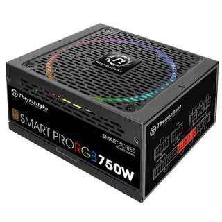 Thermaltake 750W Smart Pro RGB Fully Modular 80+ Bronze Power Supply - SKU: PS-SPR-0750FPCBAU-R