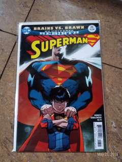 Brains vs Brawn superman