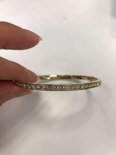 Givenchy eternity crystal bracelet bangle