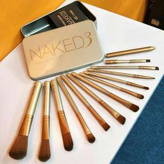 Naked 3 Brush Set