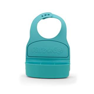 Dare-U-Go! Bib and Food Container in One (Turquoise)