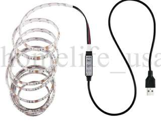 USB LED STRIP (1 METER) with remote control