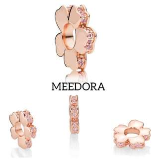 WILDFLOWER MEADOW SPACER ROSE GOLD PANDORA