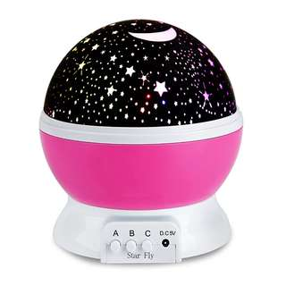 Baby Night Light Projector 360 Degree With USB Cable