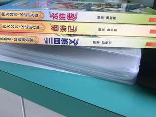 chinese fiction books