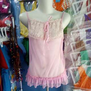 Lingerie pink made in china