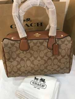 AUTHENTIC COACH BANNET SIGNATURE MEDIUM