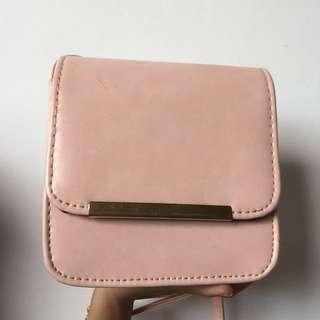 Charles&keith pink sling bag