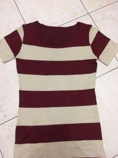 Red Stripes Dress