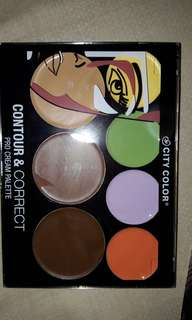 City Color Contour & Correct Pro Cream Palette