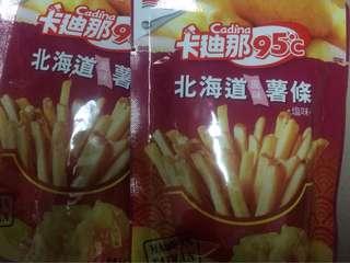 🚚 卡迪那 北海道風味薯條🍟鹽味