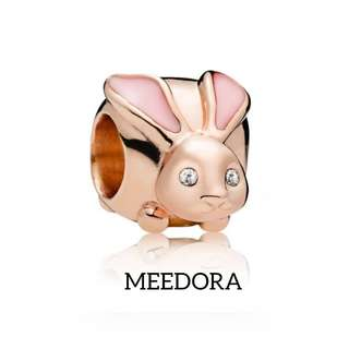 CUTE BUNNY CHARM ROSE GOLD PANDORA