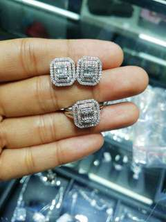 On Sale! 68k set! Hongkong Diamonds