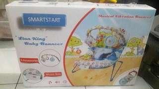 Baby bouncer smart start lion king