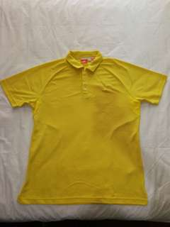 Puma Yellow Polo Shirt