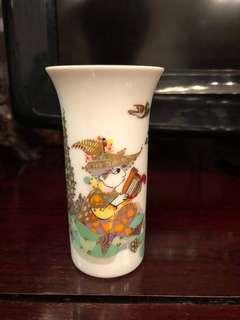Vintage Rosenthal Signed Bjorn Wiinblad Small Vase