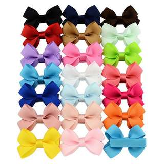 20pcs. Assorted covered clip